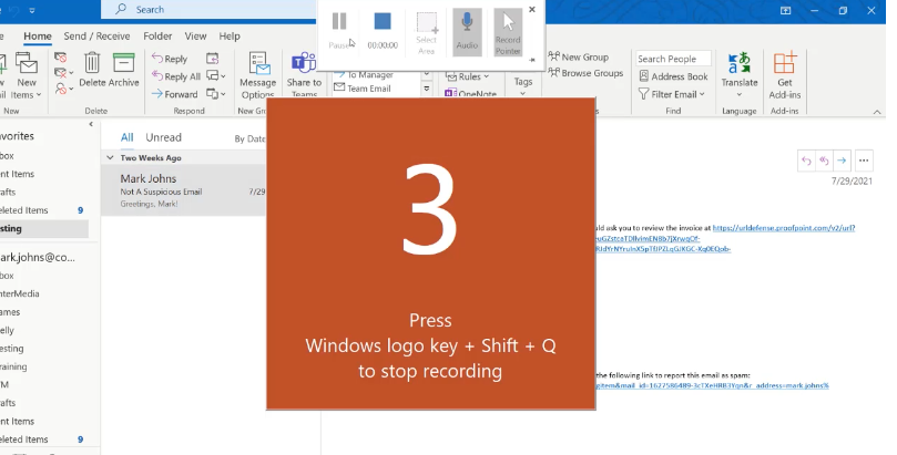Use PowerPoint to Record Your Screen